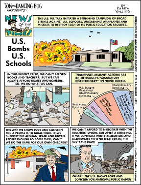 TDB onbombing schools